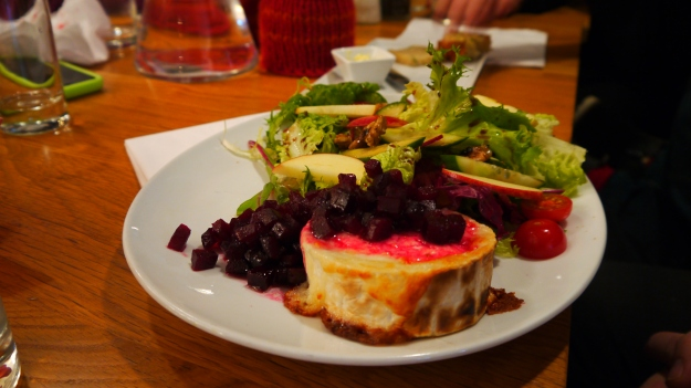 Chevre-salat